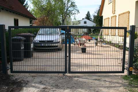 mutanox berlin fence double rod gratings grid fencing. Black Bedroom Furniture Sets. Home Design Ideas