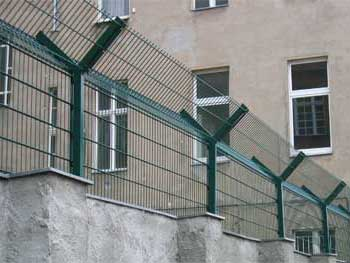 Double Rod Gratings Grid Fencing European Wide Double
